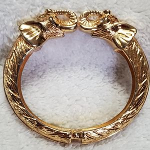 """Kenneth Lane"" unsigned Elephant Bracelet"